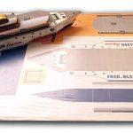Impresión barco recortable